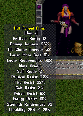 Hell Forged Arms