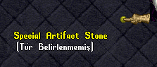 Special Artifact Stone
